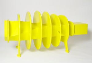 Produkt # 004 - 2015 - T42/B100/H40cm - Polymergips, Glasfaser, Autolack
